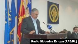 Поранешниот градоначалник на Охрид Александар Петрески.