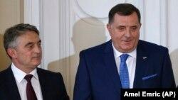 Željko Komšić i Milorad Dodik