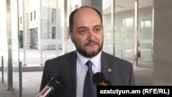Исполняющий обязанности министра образования и науки Араик Арутюнян (архив)