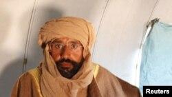 Сейф аль-Ислам в плену в Зинтане. 19 ноября 2011 года