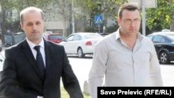 Suad Numanović i njegov vozač Edin Hamzić