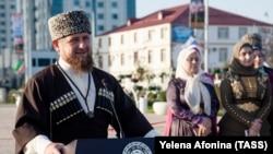 Lideri çeçen Ramzan Kadyrov