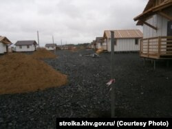 Новые дома в селе Бельго