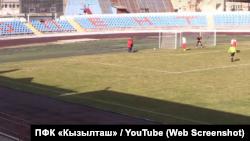 Матч команди «Бахчисарай» і «збірної «ДНР» у Криму