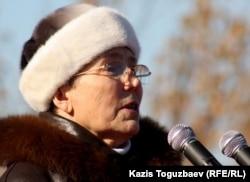 Герой Социалистического труда Вера Сидорова. Алматы, 11 ноября 2011 года.