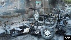 Один из сирийских городов, подвергшихся нападению армейских сил