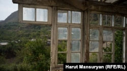 A home destroyed in the Nagorno-Karabakh conflict lies abandoned and derelict decades later. (file photo)