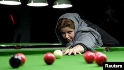 اکرم محمدی امینی از معروفترین اسنوکربازان ایرانی است