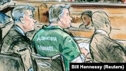 Pamje nga seanca e sotme në gjykatë.