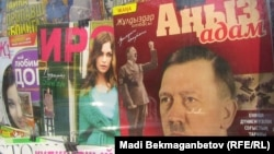"""The April issue of """"Zhuldyzdar Otbasy-Anyz Adam"""" was fully devoted to Hitler's life and political activities."""
