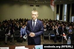 Аляксей Янукевіч выступіў з 20-хвіліннай прамовай