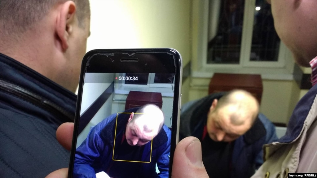 Владимир Горбенко в суде, 5 апреля 2018 года