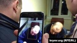 Володимир Горбенко в суді, Херсон, архівне фото
