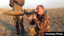 Беларус Аляксандар Агрэніч (пазыўны «Гарыныч»), які ваюе на Данбасе супраць Украіны