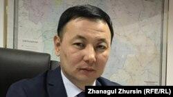 Заместитель руководителя департамента экологии Актюбинской области Ерболат Кожиков.