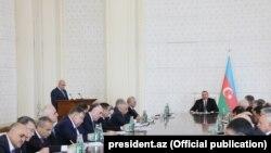 Nazirlər Kabinetinin iclası, 9 oktyabr 2017