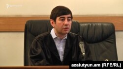 Председатель Апелляционного уголовного суда Вазген Рштуни, 3 июня 2019 г.
