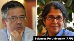 French researcher Ronald Marchal and French-Iranian academic Adelkhah Fariba. FILE PHOTOS