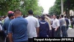Митинг в поддержку Медера Усенова. Иллюстративное фото
