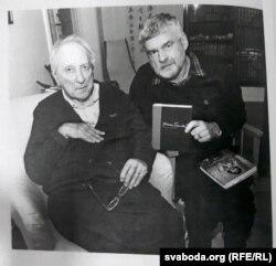 Ілюстрацыя з кнігі. Тумас Транстрэмэр з Уладзімерам Арловым