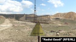 Партовгоҳи маводи радиоактив дар Истиқлол (Табошари собиқ)