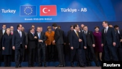 Samit EU - Turska, Brisel, mart 2016