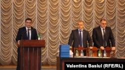 17 noiembrie 2017, adunarea generală a procurorilor. La tribună Mircea Roșioru, adjunct al procurorului general, fost președinte al Consiliului Superior al Procurorilor