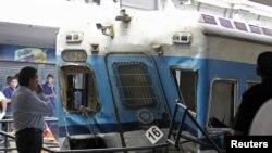 Несреќата на железничка станица во Аргентина