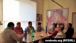 Беларускія і ўкраінскія арганізацыі правялі ў Празе круглы стол
