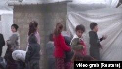 Fëmijë të komunitetit Jazidi në Irak. Shkurt, 2020.