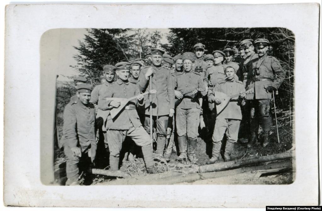 Братаньне ворагаў, 1917 год