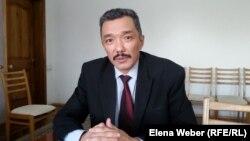 Политехникалық колледж директоры Серікбол Әбжанов. Теміртау, 29 қаңтар 2015 жыл.