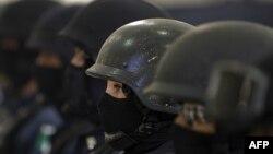 Федерлана полиција во Мексико.