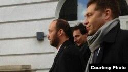 Максим Бакиев на судебных слушаниях в Лондоне. 7 декабря 2012 года.