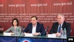 Maia Sandu, Andrei Năstase și Viorel Cibotaru