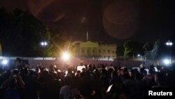Протести біля Білого дому через вбивство Джорджа Флойда, 30 травня