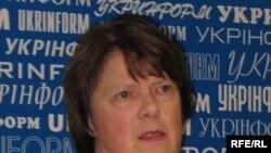 Ренате Вольвенд, доповідач Парламентської асамблеї Ради Європи з питань дотримання Україною зобов'язань ПАРЄ, Kиїв, 8 грудня 2009 року