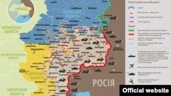 Situația militară din Donbas, 31 ianuarie 2015.