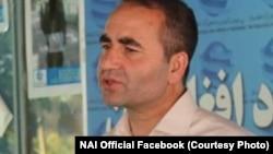 د افغانستان له ازادو رسنیو د ملاتړ بنسټ یا نی اجرائیه رئیس مجیب خلوتګر