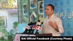 مجیب خلوتگر، رئیس اجرایی نهاد حمایتکننده رسانههای آزاد (نی)