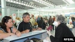 Заштитни мерки од новиот грип на аеродром