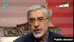 Mir Hossein Musavi is the leading reformist candidate.
