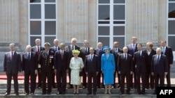 Sa fotografisanja lidera na obeležavanju 70. godišnjice iskrcavanja u Normandiji