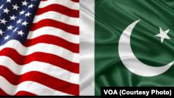 \Знамињата на САД и на Пакистан