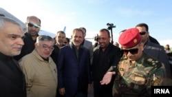 اسحاق جهانگیری معاون رئیس جمهوری ایران در نجف