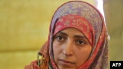 Activist Tawakel Karman jointly won the 2011 Nobel Peace Prize