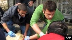 Еден од ранетите во експозлијата во Ерусалим