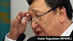 Оппозициялық белсенді Серік Сапарғали. Алматы, 15 қазан 2012 жыл.