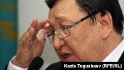 Kazakh journalist Serik Sapargali