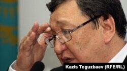 Серик Сапаргали, оппозиционный политик. Алматы, 15 октября 2012 года.